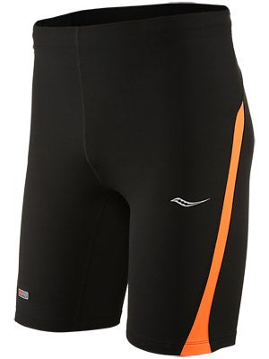 Saucony Men's Inferno Tight Short Black/Vizipro