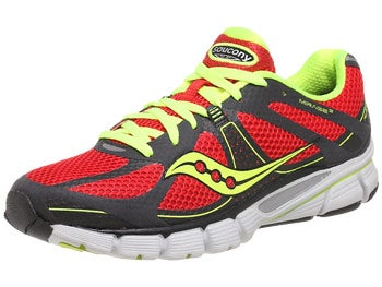 Saucony Mirage 3 Men's Shoes Grey/Red/Citron