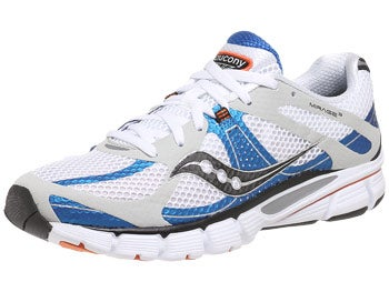 Saucony Mirage 3 Men's Shoes White/Blue/Orange