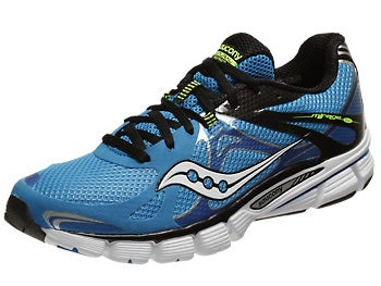 Saucony Mirage 4 Men's Shoes Blue/Black/Citron