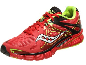 Saucony Mirage 4 Men's Shoes Red/Black/Citron