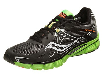Saucony Mirage 4 Men's Shoes Black/Green/Orange