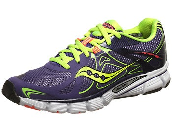 Saucony Mirage 4 Women's Shoes Purple/Citron/ViziCoral