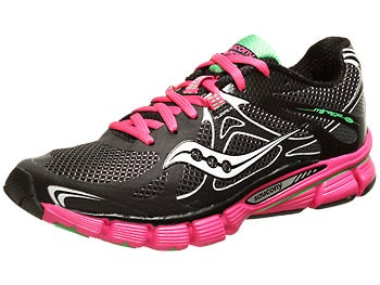 Saucony Mirage 4 Women's Shoes Black/ViziPink/Green