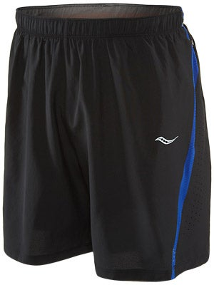 Saucony Men's Run Lux III Short Black/Cobalt