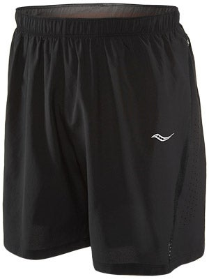 Saucony Men's Run Lux III Short Black
