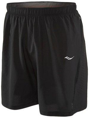Saucony Men's Run Lux III Short Black