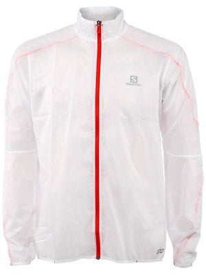 Salomon Men's S-Lab Light Jacket Dark Cloud & White