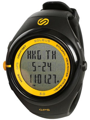 Soleus GPS 3.0 Digital Watch w/HRM