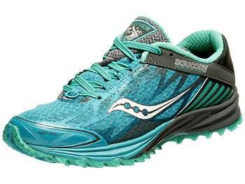 Saucony Peregrine 4 Women's Shoes Blue/Teal/Grey