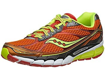 Saucony Ride 7 Men's Shoes Orange/Citron/Red
