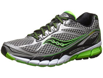 Saucony Ride 7 Men's Shoes Silver/Black/Slime