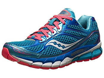 Saucony Ride 7 Women's Shoes Blue/ViziCoral
