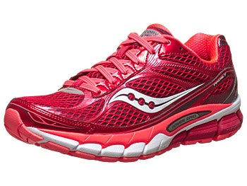 Saucony Ride 7 Women's Shoes Berry/ViziCoral