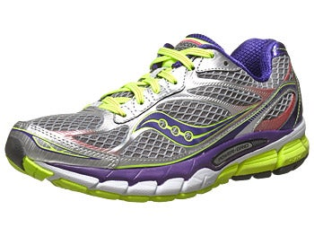 Saucony Ride 7 Women's Shoes Silver/Purple/Citron