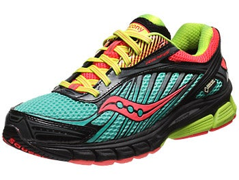 Saucony Ride 6 GTX Women's Shoes Green/Pink/Citron