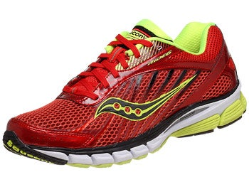 Saucony Ride 6 Men's Shoes Red/Citron/Black