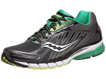 Saucony Ride 6 Men's Shoes Grey/Green/Citron