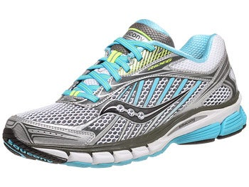 Saucony Ride 6 Women's Shoes Silver/Blue/Citron