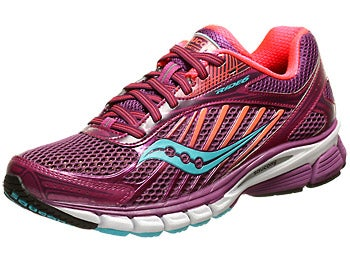 Saucony Ride 6 Women's Shoes Berry/Coral/Blue