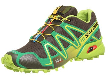 Salomon Speedcross 3 Men's Shoes Green/Yellow