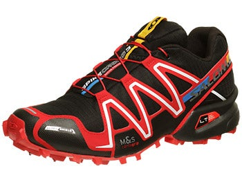 Salomon Spikecross 3 CS Men's Shoes Bk/Bright Red