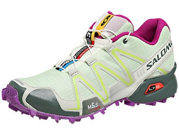 Salomon Speedcross 3 Women's Shoes Gn/Gy/Purp