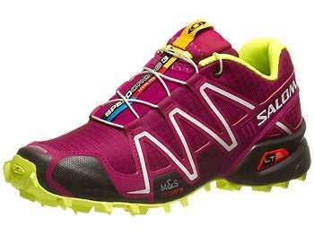 Salomon Speedcross 3 Women's Shoes Pur/Blk/Yel
