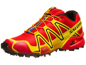 Salomon Speedcross 3 Men's Shoes Yellow/Red/Black