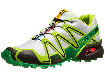 Salomon Speedcross 3 Men's Shoes White/Granny Green