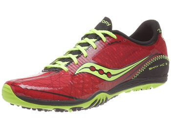 Saucony Shay XC 3 Men's Flat Red/Citron