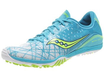 Saucony Shay XC 3 Women's Spikes Light Blue/Citron