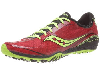Saucony Shay XC 3 Men's Spikes Red/Citron