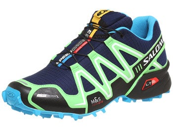 Salomon Speedcross 3 CS Men's Shoes Green/Blue