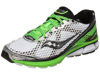 Saucony Triumph 10 Men's Shoes Wht/Blk/Slime