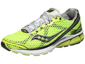 Saucony Triumph 10 Men's Shoes Citron/Blk/Wht