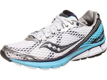 Saucony Triumph 10 Women's Shoes White/Blue