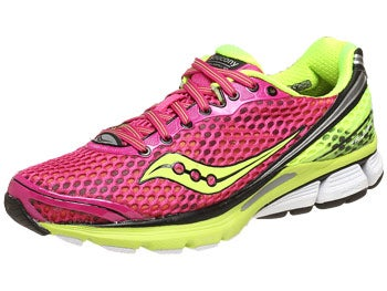 Saucony Triumph 10 Women's Shoes Pink/Citron