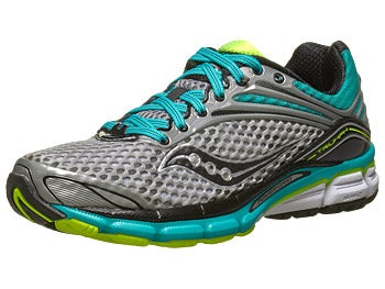 Saucony Triumph 11 Women's Shoe Grey/Teal/Citron