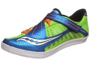 Saucony Uplift HJ Spikes Slime/Blue/Orange
