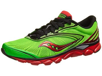 Saucony Virrata 2 Men's Shoes Slime/Black/Red