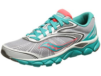 Saucony Virrata 2 Women's Shoes White/Teal/ViziCoral