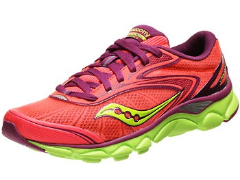 Saucony Virrata 2 Women's Shoes ViziCoral/Purple/Citron