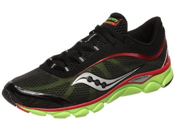 Saucony Virrata Men's Shoes Black/Red/Citron