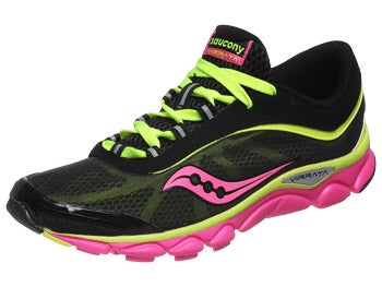 Saucony Virrata Women's Shoes Black/Citron/Pink