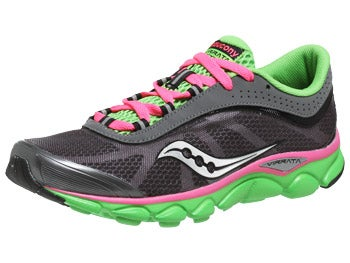 Saucony Virrata Women's Shoes Grey/Green/Pink