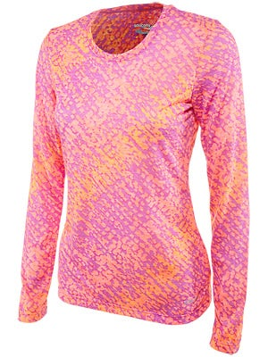 Saucony Women's Daybreak Long Sleeve Passion Purple