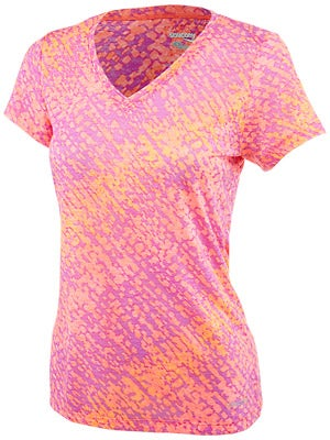 Saucony Women's Daybreak Short Sleeve Cobalt & Purple