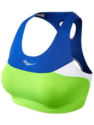 Saucony Women's Ignite Bra Top Acid Green & Vizipro