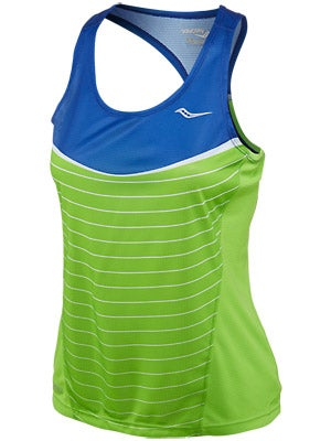 Saucony Women's Ignite Singlet Cobalt & Purple